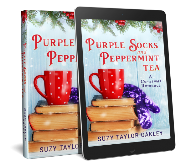 Purple Socks and Peppermint Tea 3D cover