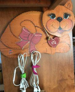 Kitty Cat key hanger